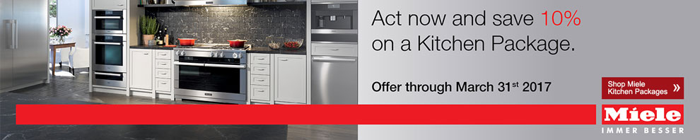 Miele Save 10% on Kitchen Packages